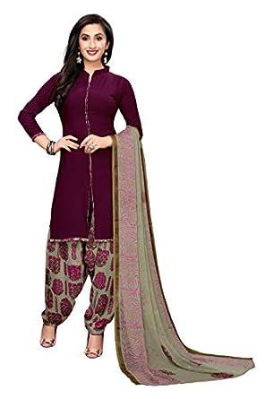 OOMPH! Women's Georgette Unstitched Salwar Suit