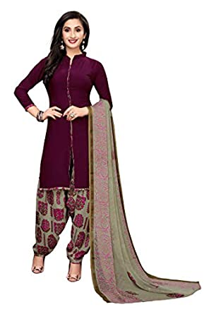 Oomph! Women's Unstitched Georgette Salwar Suit Dupatta Material