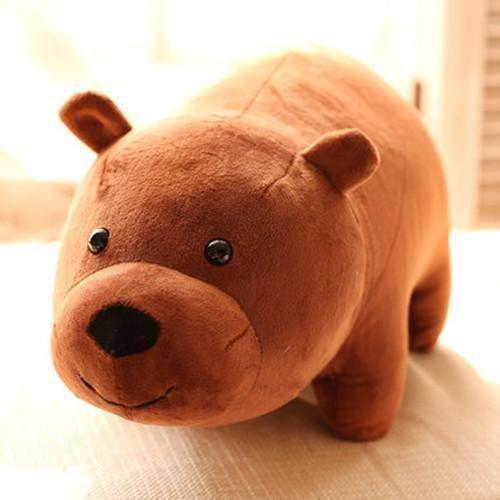 Amazon.com: 3pcs/setNEW TV Show We Bare Bears Plush Doll Toys Panda Grizzly Xmas Gifts Cute Plushie: Toys & Games