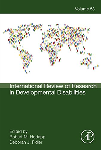International Review of Research in Developmental Disabilities (ISSN Book 53) (International Review Of Research In Developmental Disabilities)