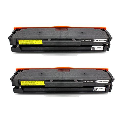 Big Dew 2 Pack MLT-D111S Compatible Toner Cartridge Replacement for Samsung SL-M2020W, SL-M2022, SL-M2022W, M2070, SL-M2070FW, SL-M2070W Printers