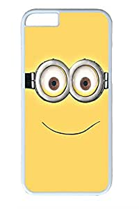 Jamie Yeager IP6 Case - Minion Carl Despicable Me Cute iPhone 6 Case (4.7 inch) Colorful Pattern Hard PC White Case Ultimate Protection Cover Fit For iPhone6 4.7Inch