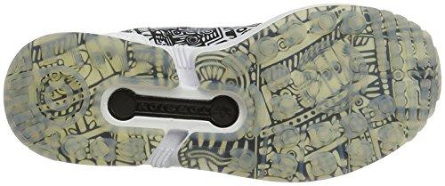 Chaussures Zx Adidas noir Blanc Flux Adulte Mixte gE7pE