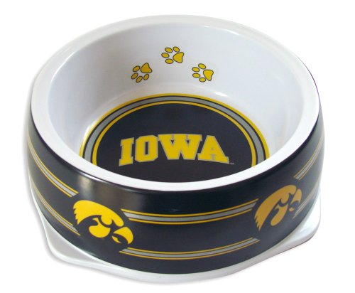Sporty K9 Collegiate University of Iowa Hawkeyes Pet Bowl, Large ()