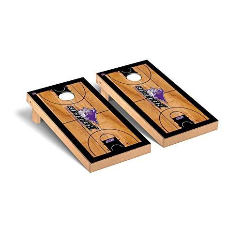 - Victory Tailgate Regulation Collegiate NCAA Basketball Court Series Cornhole Board Set - 2 Boards, 8 Bags - Southwest Baptist University SBU Bearcats
