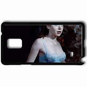 Personalized Samsung Note 4 Cell phone Case/Cover Skin Alyson Hannigan Alyson Hannigan Actors Black