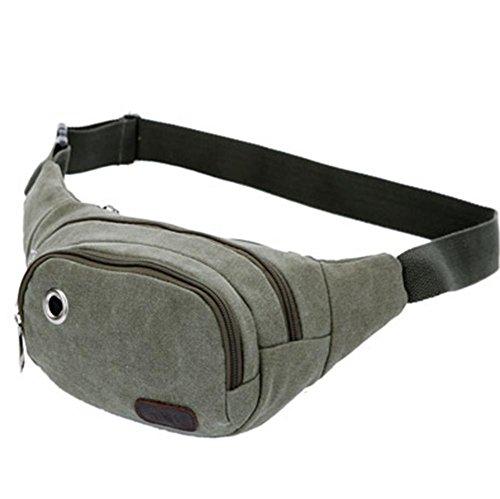 pengweiLos hombres ocasionales y las mujeres de lona sueltan el bolso al aire libre de la cintura del bolso de los deportes , 4 3