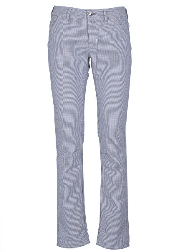 Jacob Cohen Homme J61300086B104 Blanc Coton Pantalon