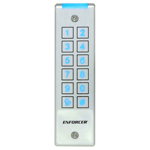 Seco-Larm 1010 Users Built-in Proximity Card Reader Two 1-Amp Relays