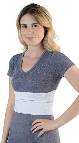 "NYOrtho Elastic Rib Support Belt - Torso Compression Binder Binder Rib Brace Treatment,Wrap for Natural Healing (Female - Fits 30""-45"" Chest) 1"