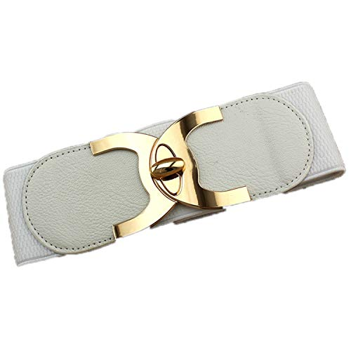 New Fashion Korean Style Buckle Elastic Wide Belt Wide Cummerbund Strap Belt Waist Female Women Accessories EL from SenS Belt
