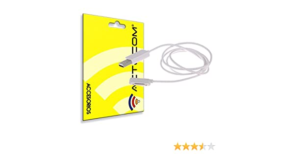 cogac ACTECOM® Cable MAGNETICO Blanco Carga para Sony Xperia Z3 ...