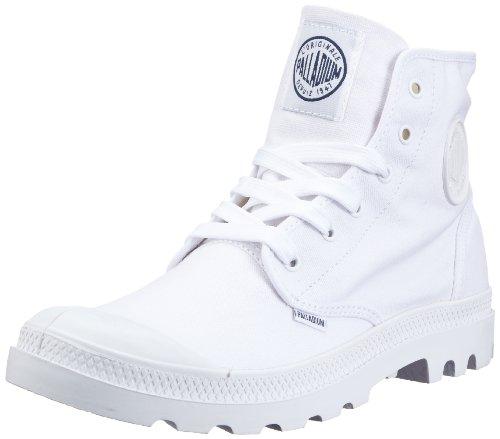 Palladium Blanc Hi, Unisex Adults' Ankle Boots White/White