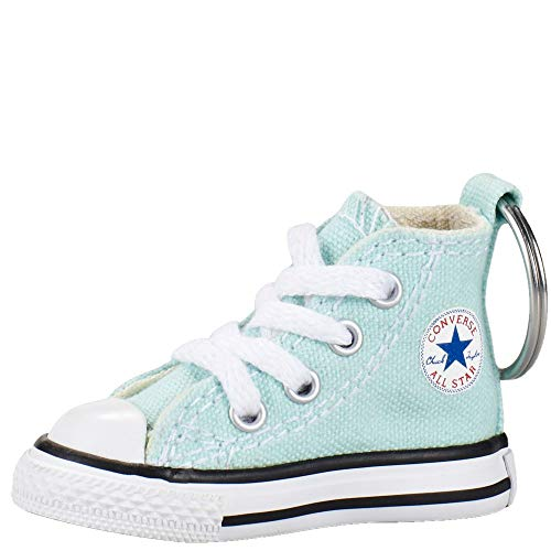 Converse Key Chain All Star Chuck Taylor Sneaker Keychain Authentic (Mint/white)