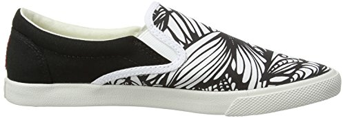Bucketfeet Pescao Lage Top Canvas Instapper Wns 7