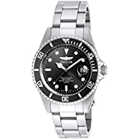 Invicta 8932OB Mens Pro Diver Black Dial Bracelet Dive Watch