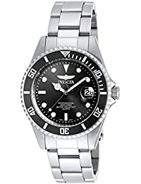 Men's 8932OB Pro Diver Analog Quartz Silver Stainless Steel Watch