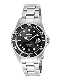 Invicta Men's 8932OB Pro Diver Analog Display Quartz Silver Watch