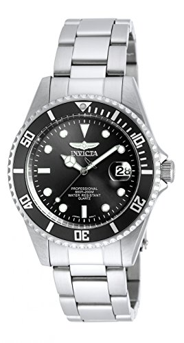 Invicta Men's 8932OB Pro Diver Analog Quartz Silver Stainless Steel Watch (Invicta Man Watch)