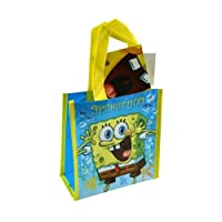 Nickelodeon SpongeBob Squarepants Mini Non-Woven Tote Bag with Printing (Set of 2)