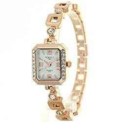 Timermall Gorgeous Colorful Crystal Bracelet Watches