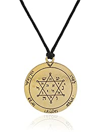 The Second Pentacle Of Jupiter Seal Of Solomon Necklace Talisman Jewelry
