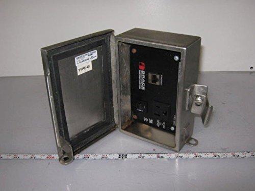 - Grace Engineering P-R33-M6R3 120VAC & Ethernet Bulkhead Type 4X
