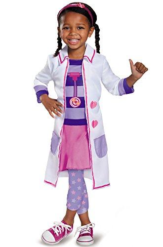 Doc Toy Hospital Classic Doc Mcstuffins Disney Junior Costume, Small/2T