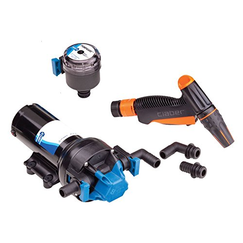 Jabsco 82605-0092 HotShot Series Automatic Washdown Pump - 6.0GPM - 70psi - 12VDC