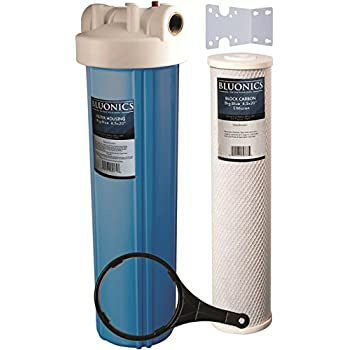Bluonics 20 Quot Big Blue Whole House Water Filter With 5