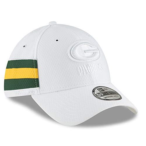 典型的なつばインサートニューエラ (New Era) 39サーティ キャップ - 色 Rush グリーンベイ?パッカーズ (Packers)
