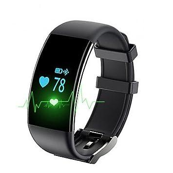 LISABOBO @ Yy df30 mujer de los hombres pulsera inteligente / smartwatch / ritmo cardíaco de la presión arterial de fatiga de oxígeno de monitoreo , black: ...