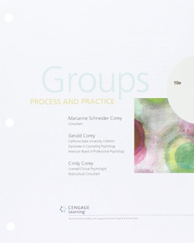 Bundle: Groups: Process and Practice, Loose-Leaf Version, 10th + MindTap Counseling, 1 term (6 months) Printed Access Card