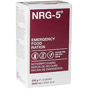NRG-5 - Pastillas nutritivas de emergencia (500 g, 9 raciones) 10
