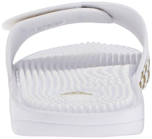 Adidas Man Adissage Sport Sandal, Ftwr Vitt, Guld Uppfyllda Ftwr Vit, 14 M Oss Ftwr Vitt, Guld Uppfyllda, Ftwr Vit