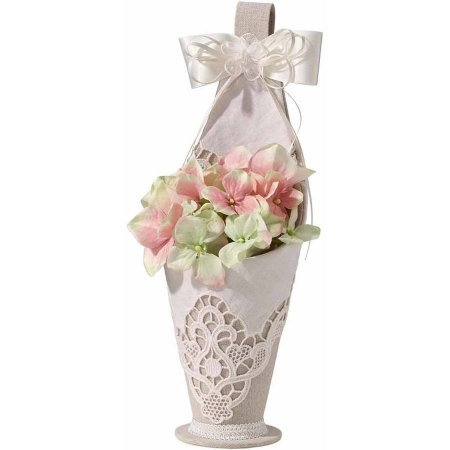 Lillian Rose Country Lace Flower Girl Basket