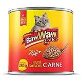 Patê Baw Waw para gatos sabor Carne 280g