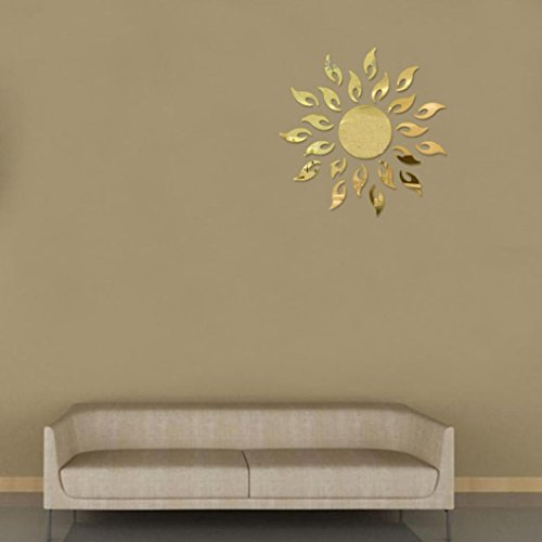 Hatop Luxury 3d Sunflower Home Decor Bell Cool Mirrors