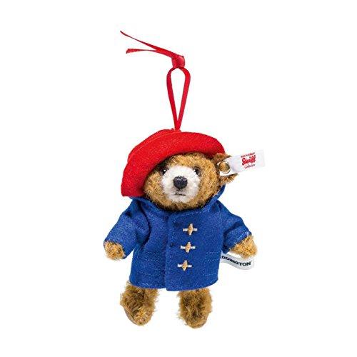 (Steiff Paddington Teddy Bear Ornament Limited Edition 4000 pieces EAN 690396 - Height 11cm)