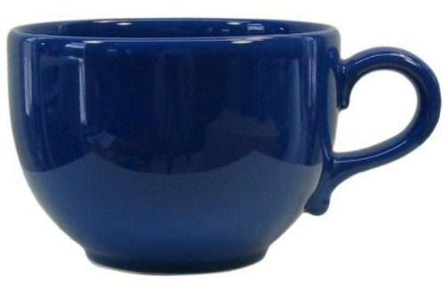Waechtersbach Fun Factory II Royal Blue Jumbo Cups, Set of 4 ()