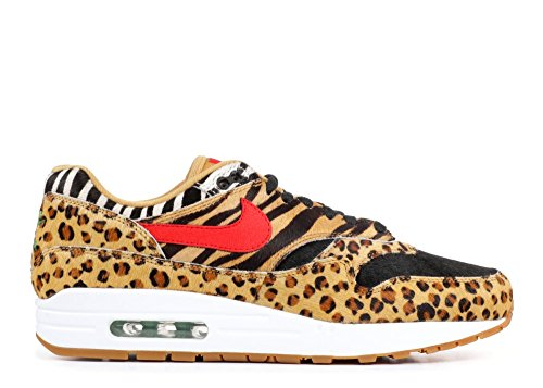 Nike Air Max 1 Dlx Atmos Schuhe Sneaker Neu Wheat, Sport Red-bison