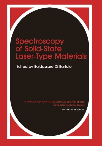 Spectroscopy of Solid-State Laser-Type Materials (Ettore Majorana International Science - Types Of Of Polarization Light