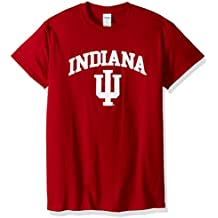Campus Colors Indiana Hoosiers Arch & Logo Gameday T-Shirt - Cardinal,