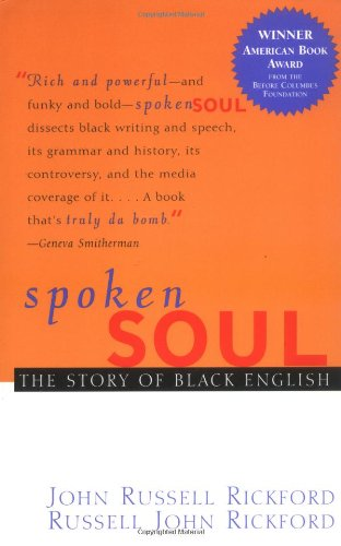 Spoken Soul:Story Of Black English
