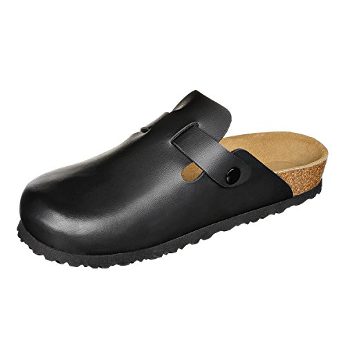 Pictures of JOE N JOYCE Slippers Clogs Shoes Leatherette Regular - Mens and Womens Black 43 EU 4