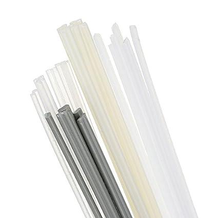 Werse 24Pcs Pp/Abs / Pe/Pvc Material Plástico Soldadura Rod Car/Pipe / Plastic Sheet Welding: Amazon.es: Bricolaje y herramientas