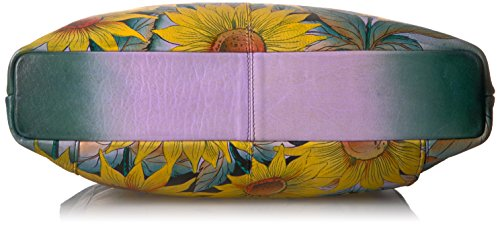 Anuschka Hand Painted Leather Large Crossbody by ANUSCHKA (Image #4)