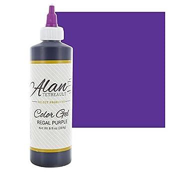 Regal Purple Premium Food Color Gel, 10-1/2 Ounces (8 Fl. Oz) by Chef Alan  Tetreault