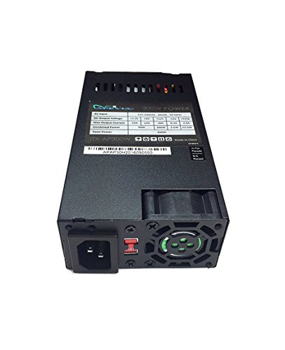 Apevia ITX-AP300W Mini-ITX/Flex ATX 300W Solid Power Supply - Black by Apevia (Image #3)
