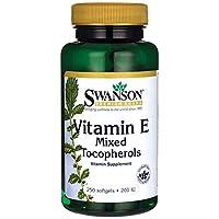 Swanson Vitamin E Mixed Tocopherols 200 Iu (134 Milligrams) 250 Sgels